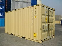 20'HC TAN RAL 1001 shipping containers