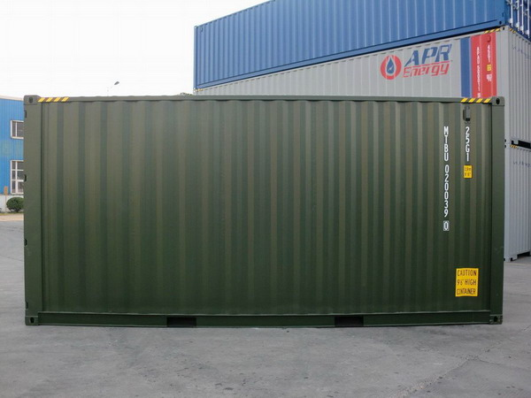 20 39 hc green ral 6007 shipping containers for 20 foot container home