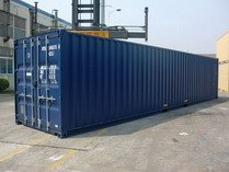 40' DV with fork lift pockets shipping containers